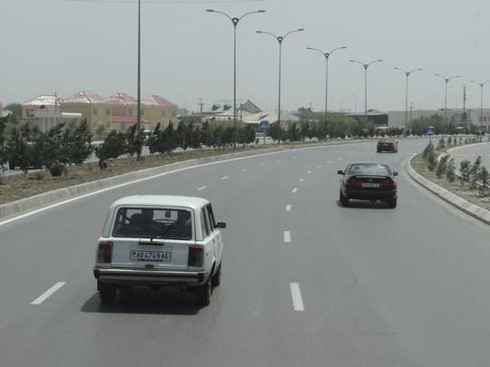 32. Intrarea in Asgabat