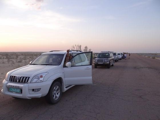36. Jeep Turkmenistan