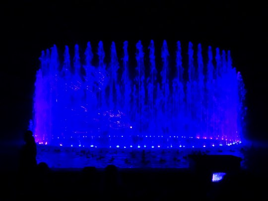 50. Water & light show - Mardan Palace