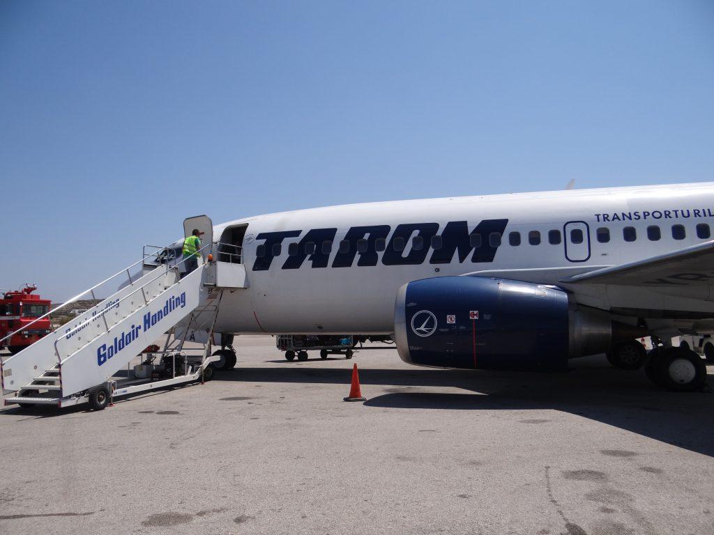 01. Tarom Pe Aeroportul Mykonos
