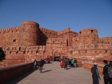 03. Agra Fort, India