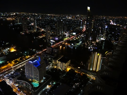 13. Bangkok by night