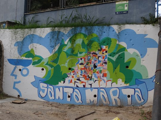 13. Urban grafitti - favela