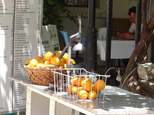 22. Storcator portocale