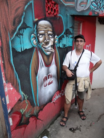 25. Favela urban art