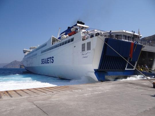02. Ferry Santorini