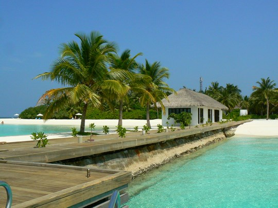 05. Sosire resort Maldive