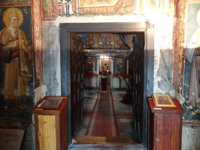 07. Sf Maria Ohrid - interior