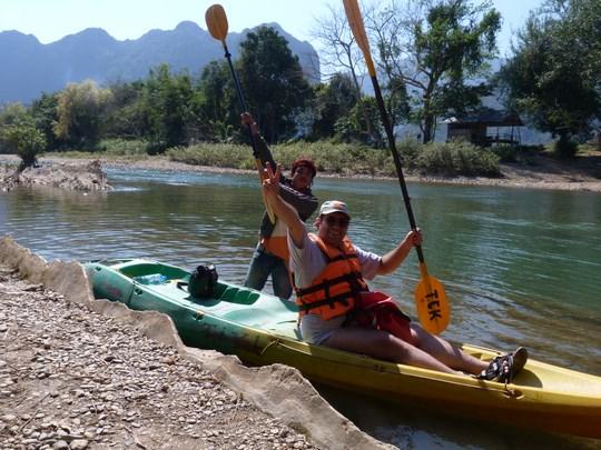 11. Canoe Vang Vieng