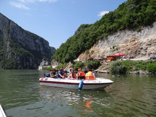 11. Excursie cu barca - Cazane