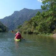 12. Laos Canoe