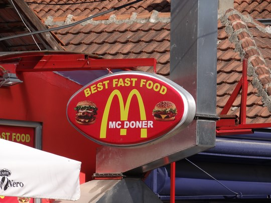 16. Mc Donald's Kosovo