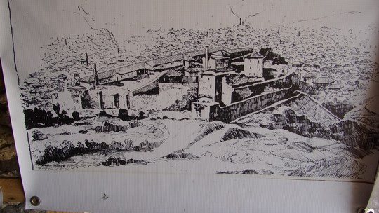 21. Poza cetatea Prizren