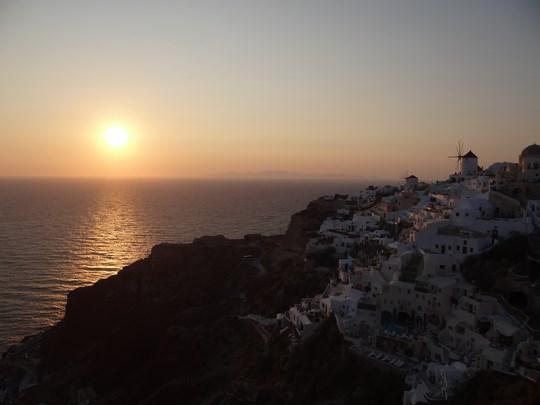 24. Apus de soare in Santorini
