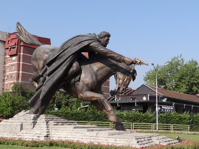 30. Statuie in Skopje