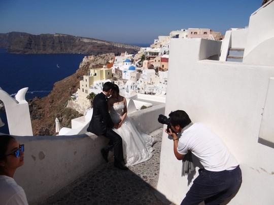40. Nunta in Santorini