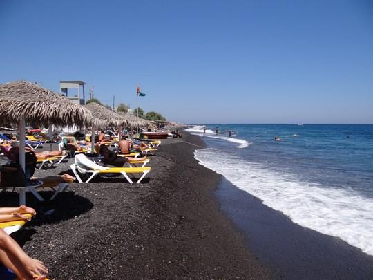 48. Kamari Beach, Santorini