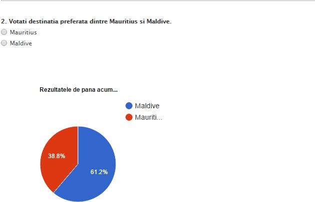 """CONCURS EXIMTUR – """"Batalia destinatiilor"""" – Mauritius vs Maldive"""
