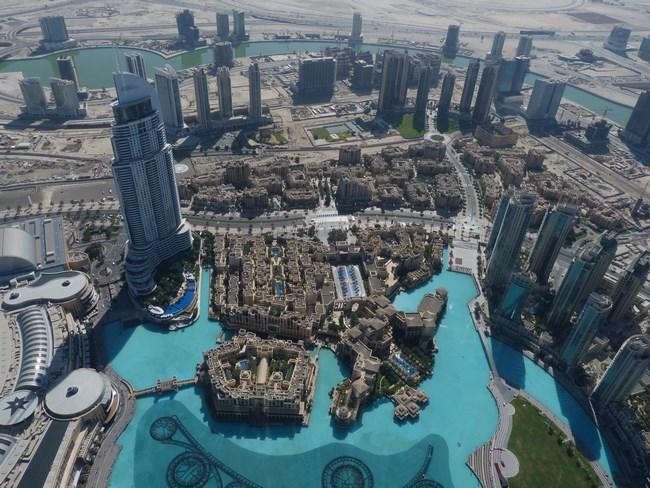 02. Imagine din Burj Khalifa