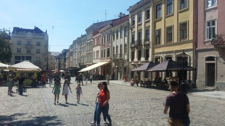 02. Piata Centrala Lviv
