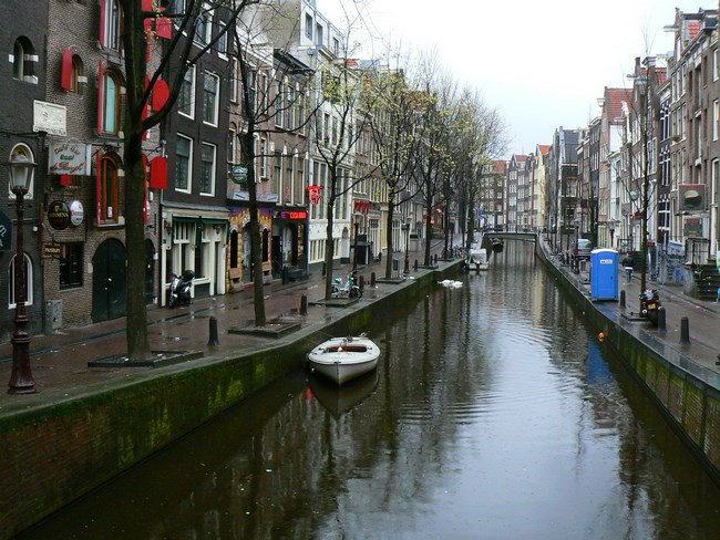 04. Canalele din Amsterdam