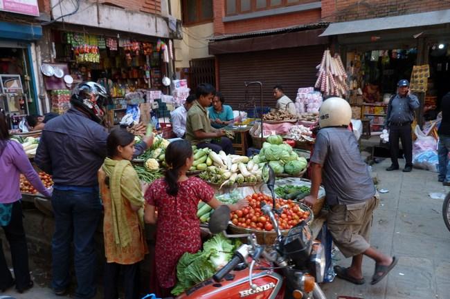 05. Piata in Kathmandu