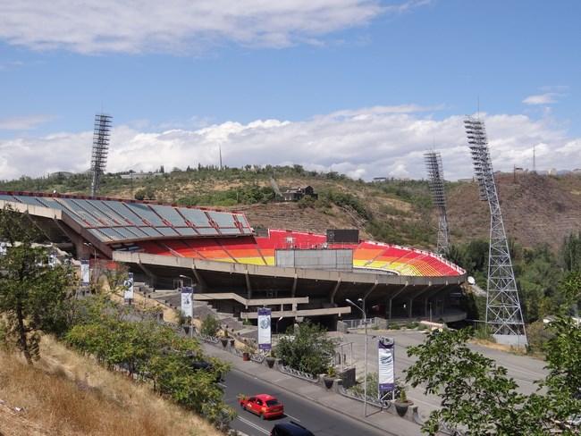 10. Stadionul din Erevan, Armenia