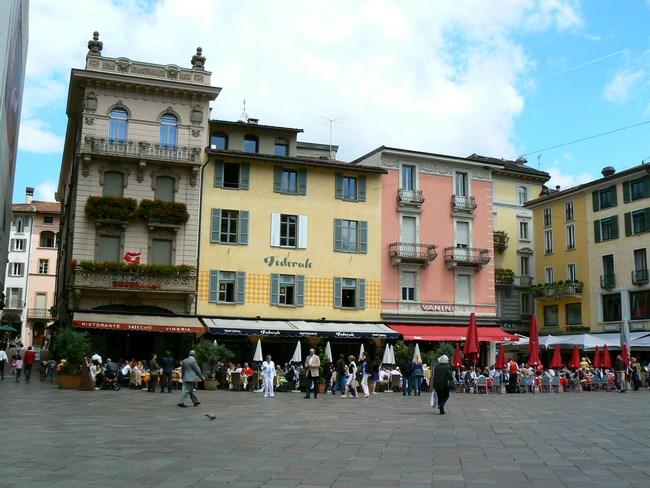 13. Piata Centrala din Lugano