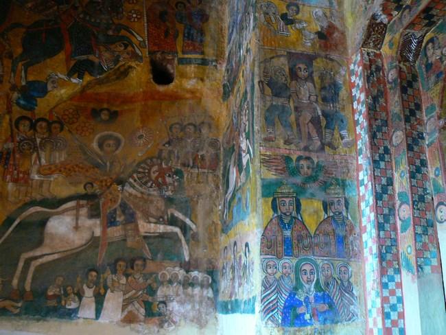 14. Picturi murale etiopiene