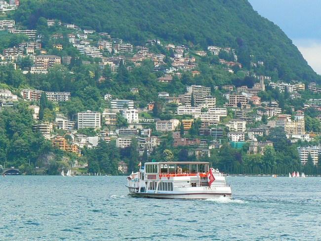 15. Pe lacul Lugano
