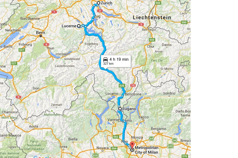 Zurich - Milano