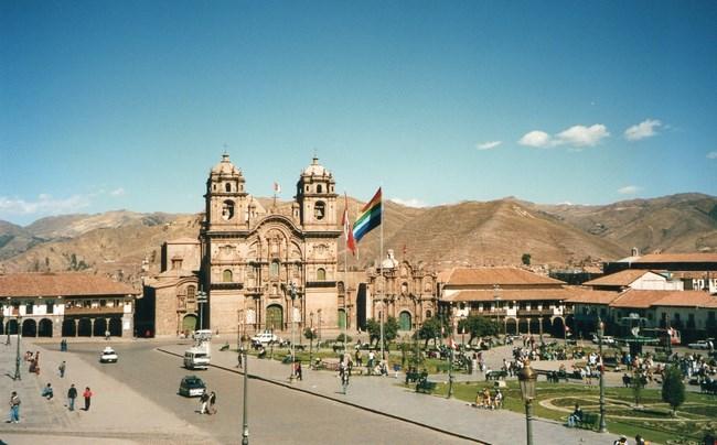 01. Plaza de Armas, centrul din Cuzco