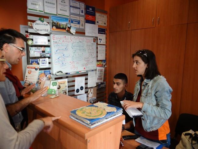 03. Receptie Envoy Hostel Erevan