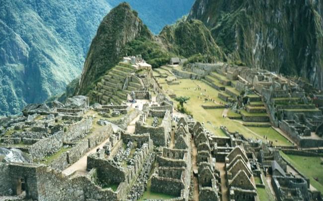 07. Orasul inca Macchu Picchu