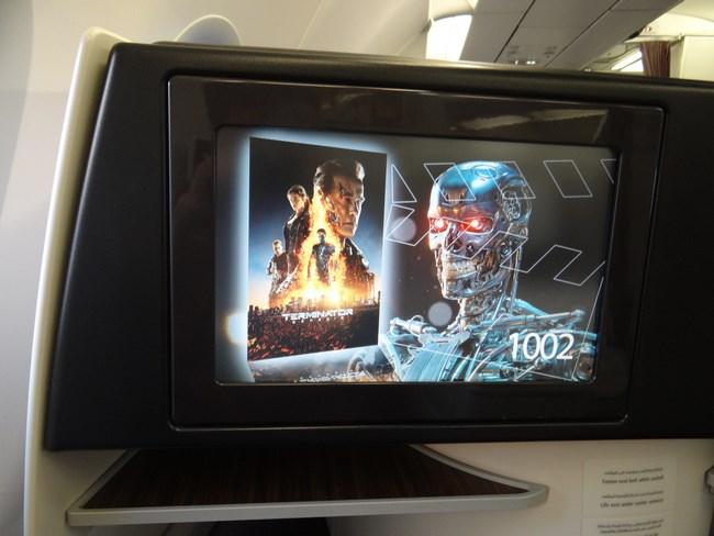 08. Ecran business class Qatar Airways