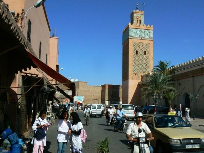 10. Marrakech, Maroc