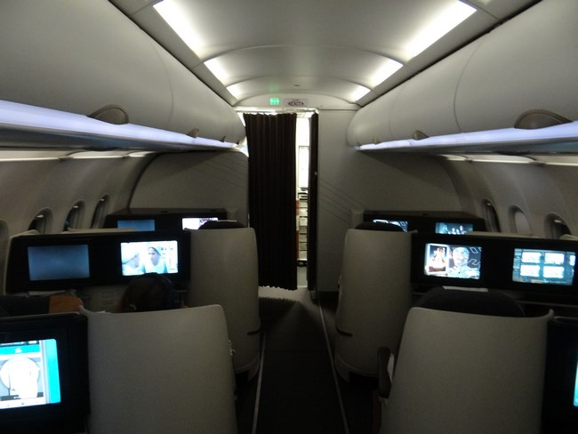 15. Business Class - Qatar Airways Bucharest - Doha