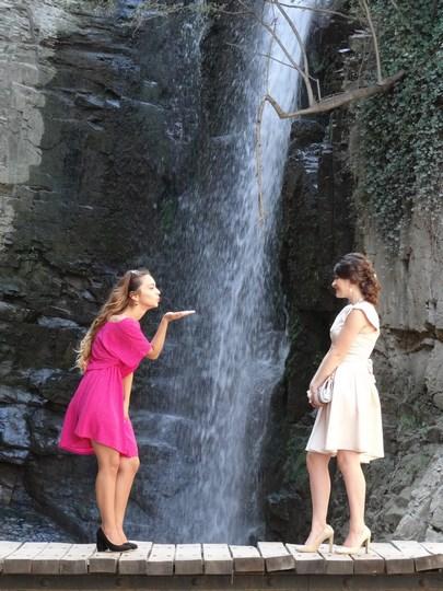16. Tbilisi waterfall