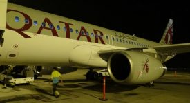 18. Qatar Airways A320