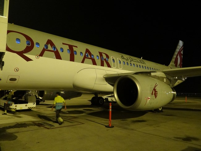 18. Qatar Airways - A320