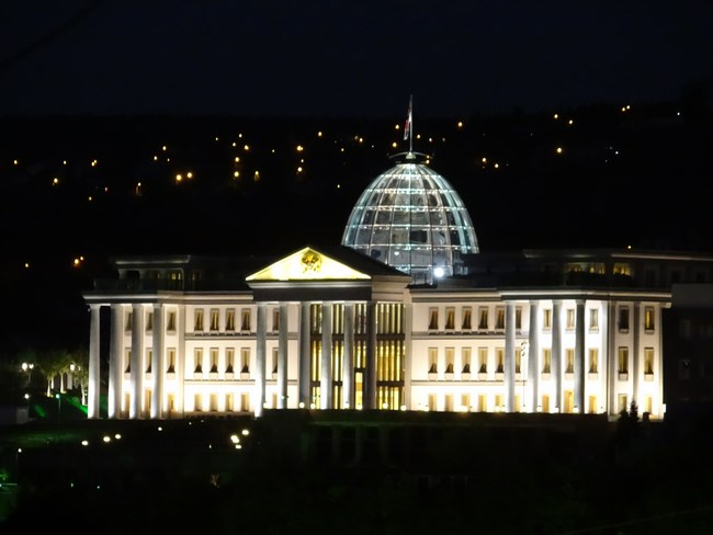 21. Palat presedinte Georgia
