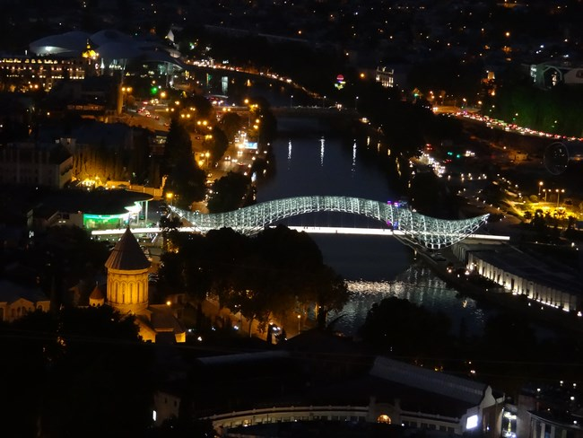 25. Tbilisi Peace Bridge