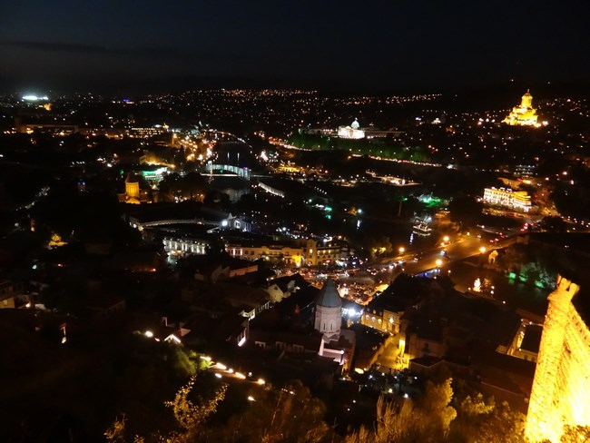 26. Tbilisi by night