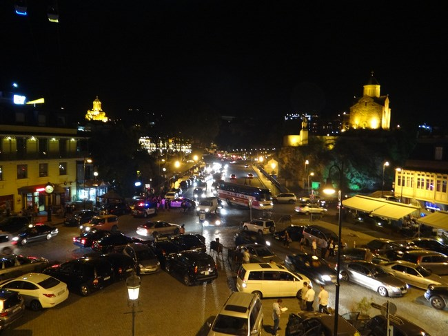 30. Tbilisi by night