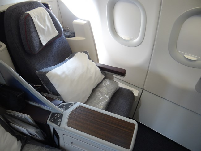 35. Business class seat