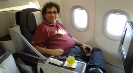 48. Business Class Qatar Airways