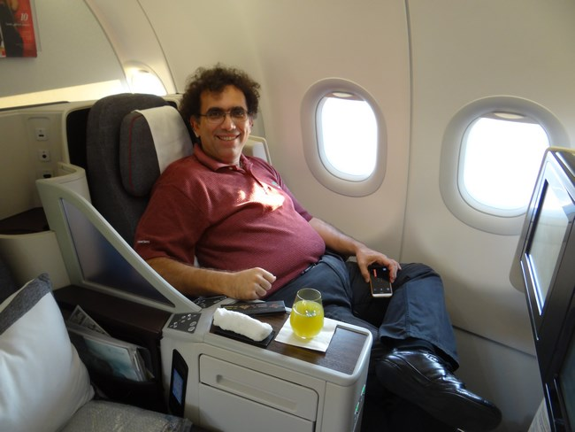 48. Business class - Qatar Airways