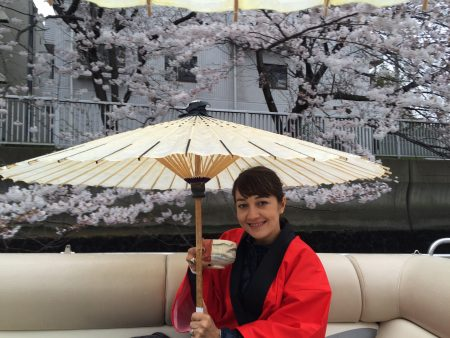 01. Tea on the Sumida river in Tokyo