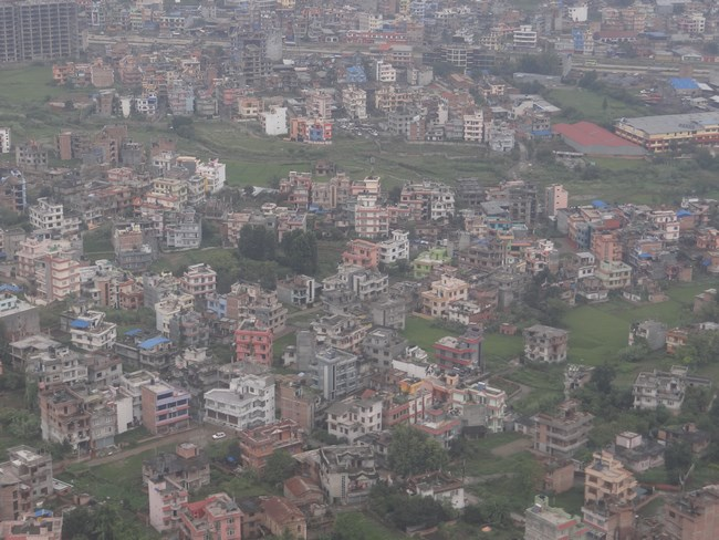 02. Kathmandu din avion