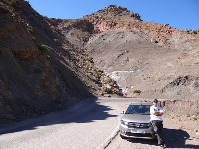 04. Dacia Sandero in Maroc